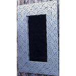 Celtic  trinity Knotwork Mirror pewter